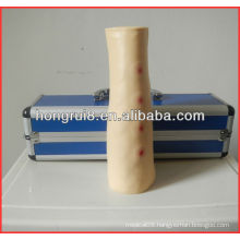 Advanced High quality Life-size Plastic Medical Intradermal Injection Training Arm for intradermal injection
