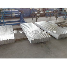 H-t-dip galvanized/aluzinc corrugate steel roof and wall sheet