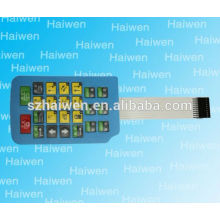 Interruptor de membrana con cable flexi 3m adhesivo
