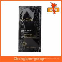 Liquid black hair oil sachet for sample 10ml with good looking