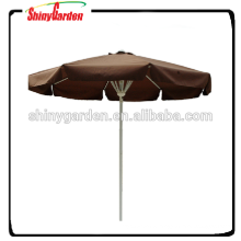 10' spring umbrella, steel outdoor beach umbrella, push up umbrella