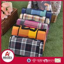 Estilo de pasta 100% acrílico cobertor impermeável ao ar livre