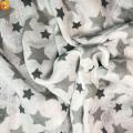 Tecido de bebê de musselina estampado algodão de novo produto