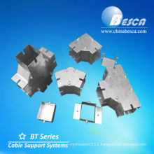 Metal Sheet Wire Way Horizontal Equal Tee