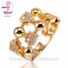 últimos diseños de anillo de dedo de oro / 925 anillos de dedo índice de plata de dedo completo