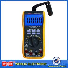 Multimètre numérique avec mesure de tension de batterie WH5000B