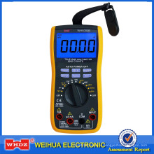 Цифровой мультиметр с измерения напряжения батареи WH5000B