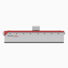 Materia textil cortador láser con alimentador automático de