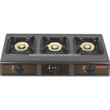 3 burner teflon kitchen stove LPG