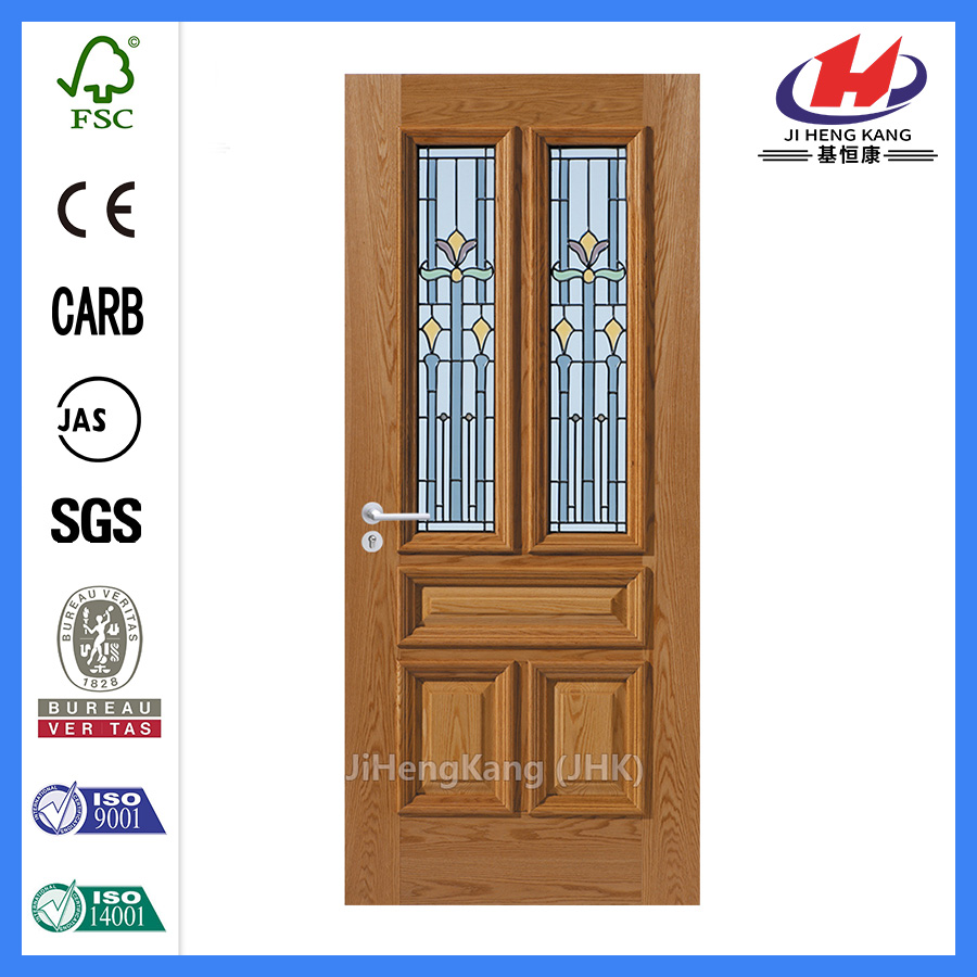 *JHK-D0071  4 Panel Interior Door Fiberglass Craftsman Door Craftsman Doors Fiberglass