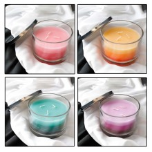 3 Wick Layered Scented Candles