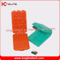 High Quality Plastic Pill Case with 10-Cases (KL-9009)