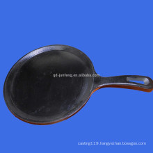 carbon steel enameled cook pan