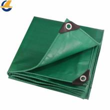 Cubierta de lona laminada de PVC verde