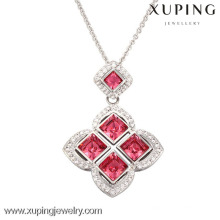 32580-925 sterling silver color pendant Crystals from Swarovski,ruby stone pendants