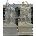 Geschnitzte Stein-Statue für Garten-Marmor-Skulptur (SY-X1437AB)