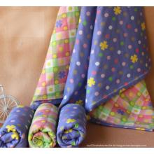 100% Baumwolle Baby Musselin Swaddle / Baby Swaddle mit verschiedenen Design