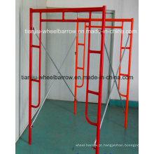 Andaime de aço do quadro de H para a construção Tj008