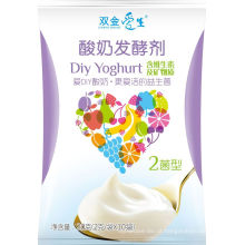 Mistura de iogurte saudável probiótico