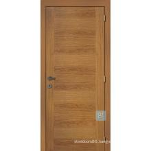 Rustic Wood Veneered Entry Door of Home Door Design, Rustic Wood Entry Door