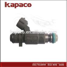 Marca Boquilla inyector de combustible original 16600-5L700 FBJC100