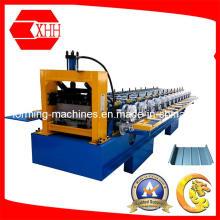 Azulejo de acero Perfil de perfil de metal de aluminio Azulejo formando la máquina