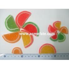 Doces gelatinosas em forma de melão suave