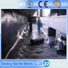 HDPE EPDM Hoja de goma impermeable / Membrana para techos / Revestimiento de estanques / Revestimiento de sótanos