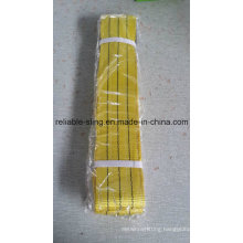 Europen Standard Flat Webbing Sling with Safety Factor