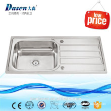Hospital Stainless Steel Single Bowl Surgical Scrub Sink With Drainboard