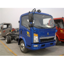 HOWO 4X2 Load 5 Ton 116HP Light Truck Chassis