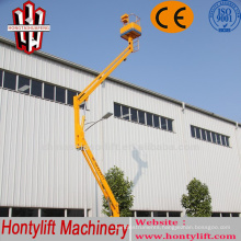 12 m CE cheap sale china Cherry picking boom lift/air cleaning lift platform