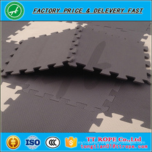 Anti-slip soft eco-friendly EVA roll up puzzle mat foam floor mat design for baby