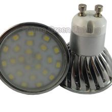 Светодиодный фонарь GU10 4W 400lm 24PC 2835SMD LED