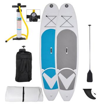 Pranchas de stand up sup paddle infláveis esportivas em cores diferentes
