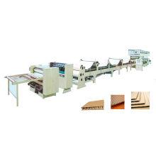 3 ply, 5 ply, 7ply ligne de production en carton ondulé (ligne de montage)