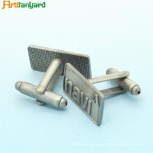 Customized Engraved Gold Metal Cufflinks
