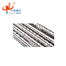 High speed screw barrel for pe pipe extruder