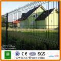 Fábrica de venta directa de PVC recubierto puerta patio cercado