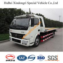 7ton FAW Flat Tow Truck Hydraulic Euro3