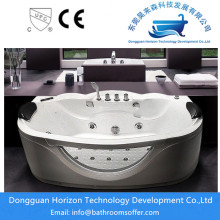 Hot sale for popular glass bathtub Freestanding soaking  whirlpool tubs for sale export to Germany Manufacturer
