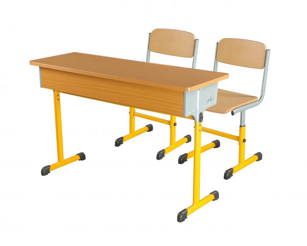 Schultisch mit stuhl  China Doppelte verstellbare Schultisch und Stuhl Hersteller