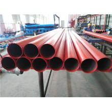 Tubos de aço pintados vermelhos de UL FM para Austrália