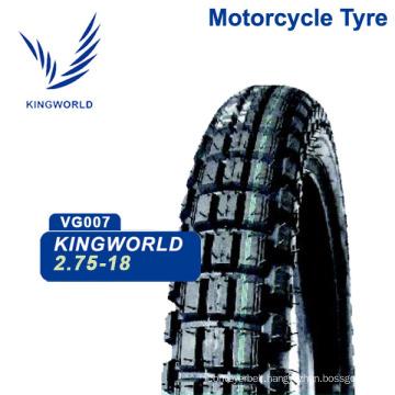 China Qingdao Brand Quality 3.00-18 Motorcycle Cross Tire