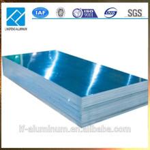 Aluminiumblech mit blauem PVC-Film in niedrigem Preis beschichtet