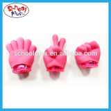 Cartoon Hand Pencil Sharpener and Eraser popular for kids