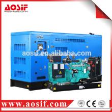 AOSIF 3-фазный 50kva бесшумный портативный генератор с двигателем Cummins
