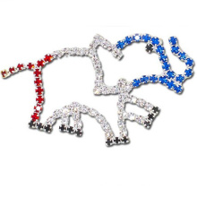 Cheap Wholesale Big hollow elephant Brooch for dress brooch in stock