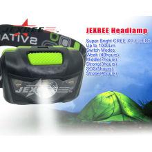 Lampes à tête led avec ceinture respirante à haute élasticité