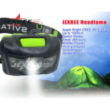 function led headlamp for camping 5 model switch head light